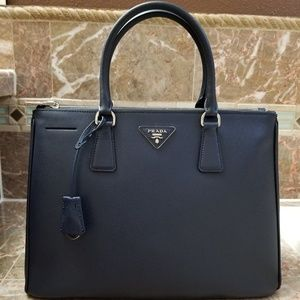 987c6617d070 Prada. 💜Prada Saffiano Baltic Blue Leather Tote Bag